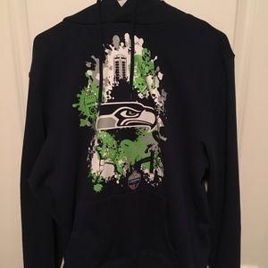 Seattle Seahawks 2018 London Series Sweatshirt